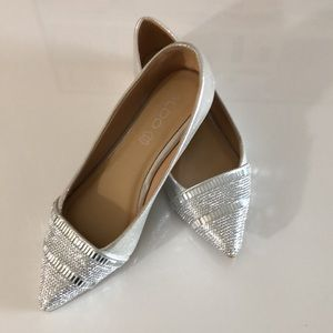 NEW:  Aldo silver shoes size 6.5